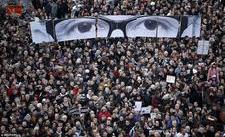 #JeSuisCharlie 1milion de oameni au mărşăluit pe străzile Parisului.