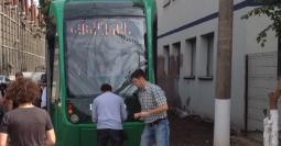 Primul tramvai Imperio Eco produs la Bucureşti.